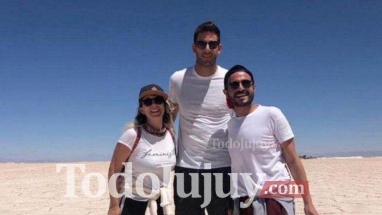 Hay amor en las alturas: Delpo y Sofi a los besos por los paisajes más lindos de Jujuy
