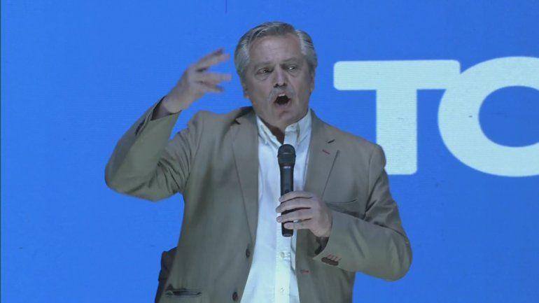 A. Fernández en Salta: Presidente, no prometa aquello que prometió y no cumplió