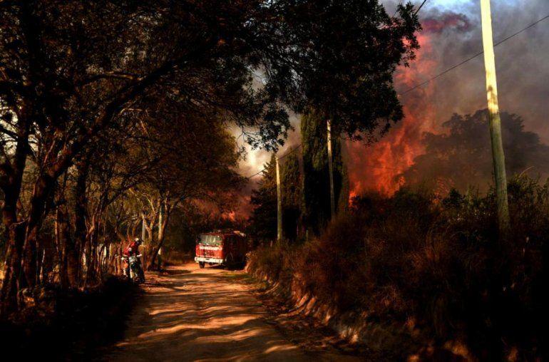 Córdoba: detienen a un hombre que habría provocado un incendio forestal