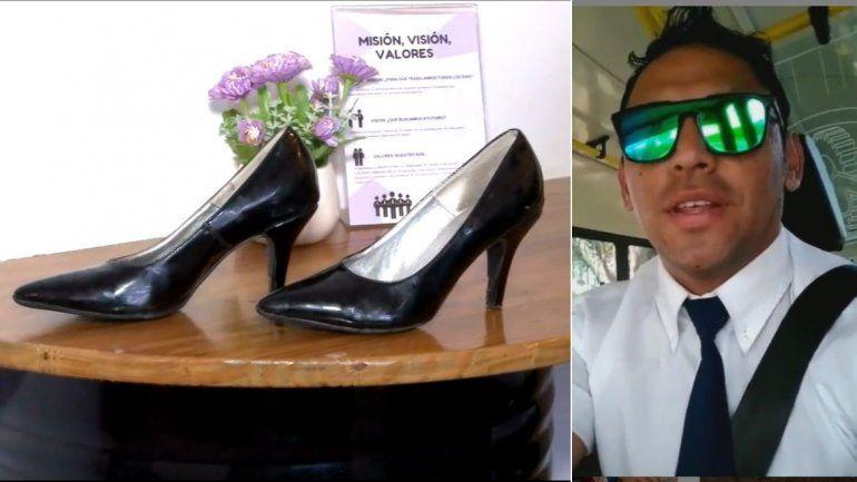 Buscan a la Cenicienta jujeña que se olvidó los zapatos en el colectivo y se volvió viral
