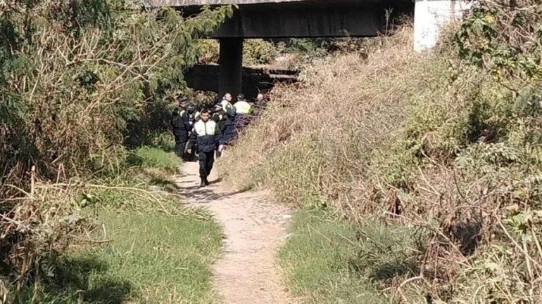 Detuvieron a una mujer que intentó arrojar a su hija de tres años desde un puente