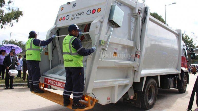 El miércoles 2 de octubre no habrá servicio de recolección de residuos