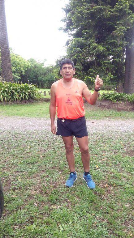 El jujeño que surgió de Volcán y llegó a correr una de las maratones más importantes del mundo