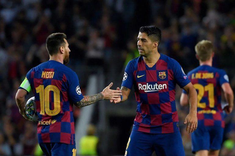 Barcelona se lo dio vuelta al Inter y lo ganó con un doblete de Suárez