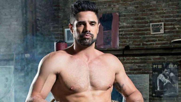 Viralizaron una foto de Luciano Castro desnudo en la cama