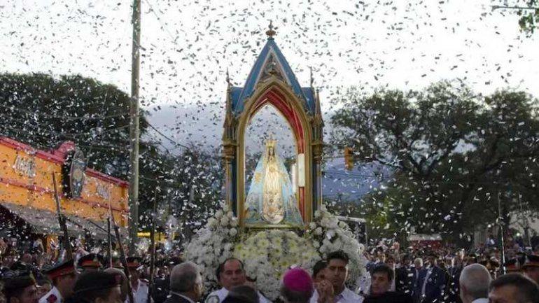 Así será la agenda de la Virgen del Valle en Jujuy