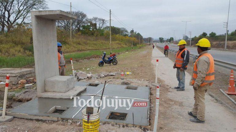 Pensando en Río Blanco: Los trabajos sobre la ruta Nº 1 están casi terminados