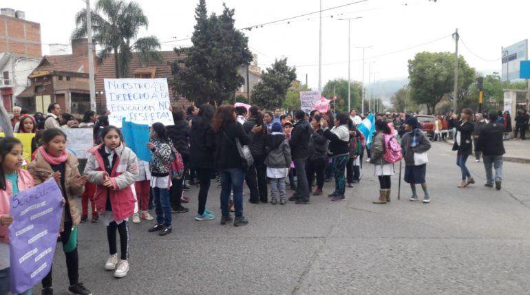 Escuela Santa Rosa: padres reclaman por la finalización de las obras que están paralizadas