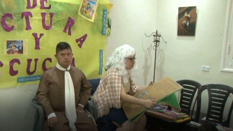 Todos Juntos realizó una actividad para promover la lectura y la escritura