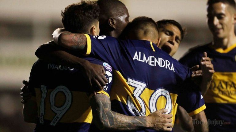 Almendra hizo el gol que le dio el triunfo al superlíder Boca Juniors