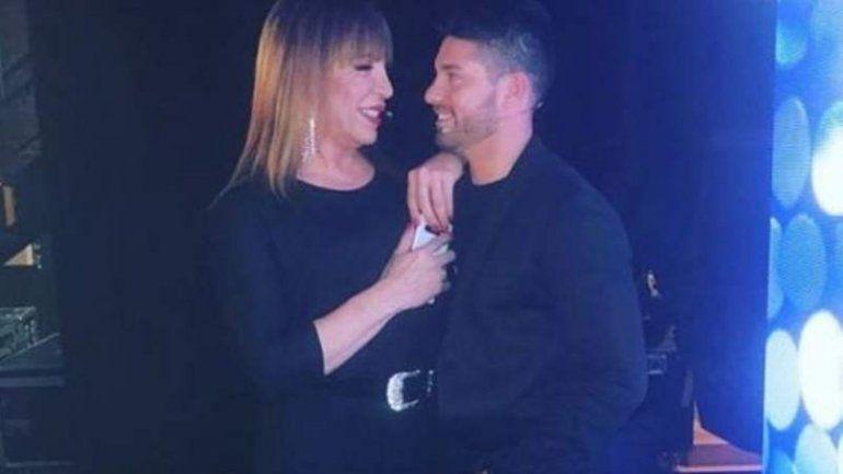 Lizy Tagliani y su novio estuvieron en el programa de Susana