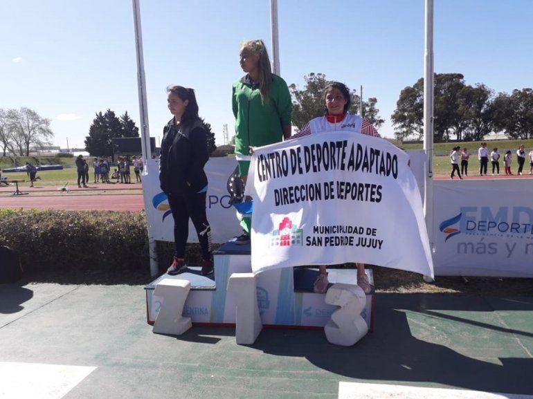 La primera medalla para Jujuy llegó de la mano del atletismo adaptado