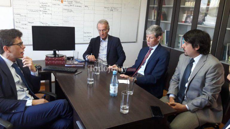 El embajador de Suiza en la Argentina llegó a Jujuy y se reunió con fiscales de la Oficina Anticorrupción