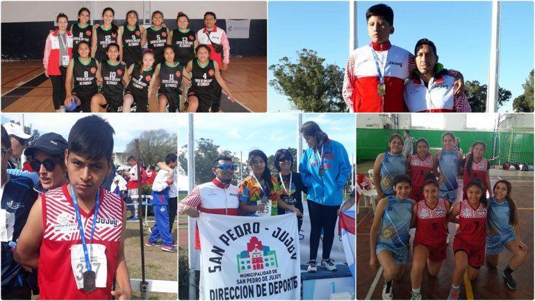 Todos los resultados en los Juegos Evita: Jujuy sumó 5 medallas ayer