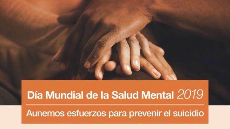 Con hincapié en la prevención del suicidio, hoy se conmemora el Día de la Salud Mental