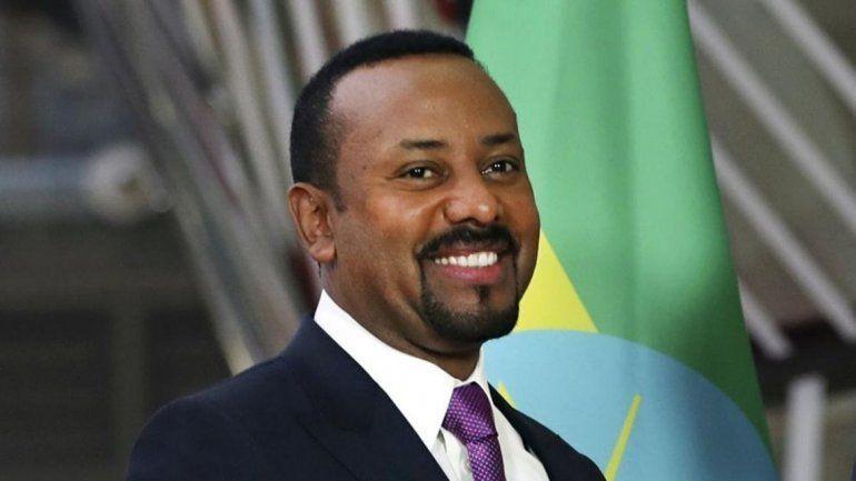 El primer ministro de Etiopía se llevó el Premio Nobel de la Paz