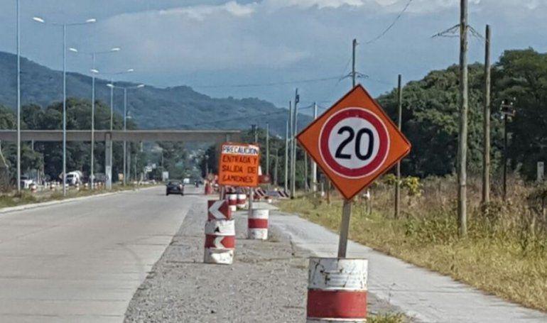 Palpalá: desde mañana y por obras corte total de la Ruta 1