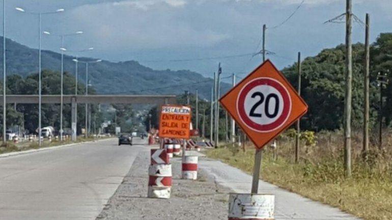 Se debe circular con precaución en la Ruta Provincial Nº 1