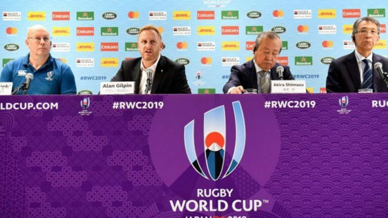 No está decidido si juegan mañana los partidos del Mundial de Rugby