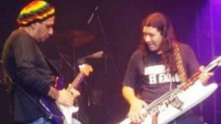 El dolor de Pablo Lescano por la muerte del guitarrista de Damas Gratis