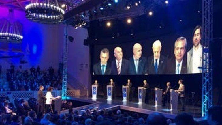 Comenzó el debate presidencial. Mira la transmisión