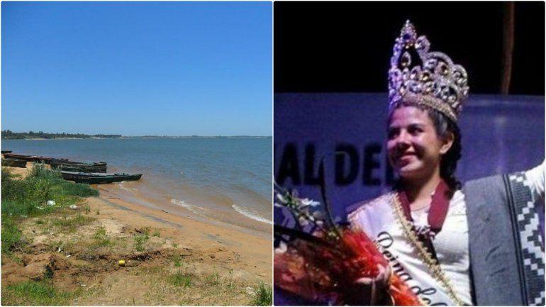 Conmoción en Corrientes: encontraron a la reina provincial del Ternero flotando en el río Paraná