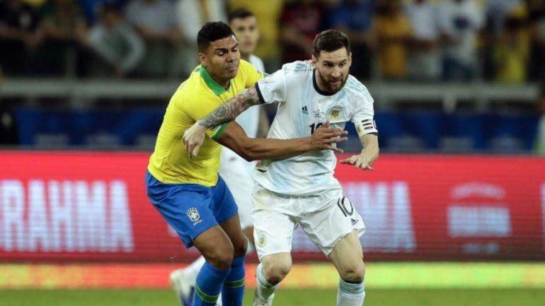Argentina y Brasil jugarán un amistoso en noviembre