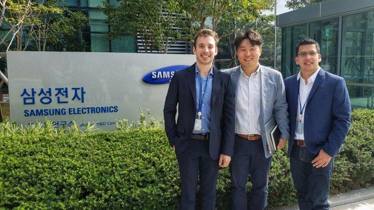 uSound visitó la casa matriz de Samsung y vigoriza su alianza