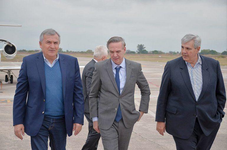 El candidato a vicepresidente Miguel Ángel Pichetto llegó a Jujuy