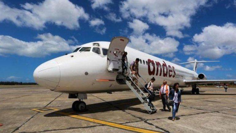 Andes Líneas Aéreas suspende sus vuelos por 10 días