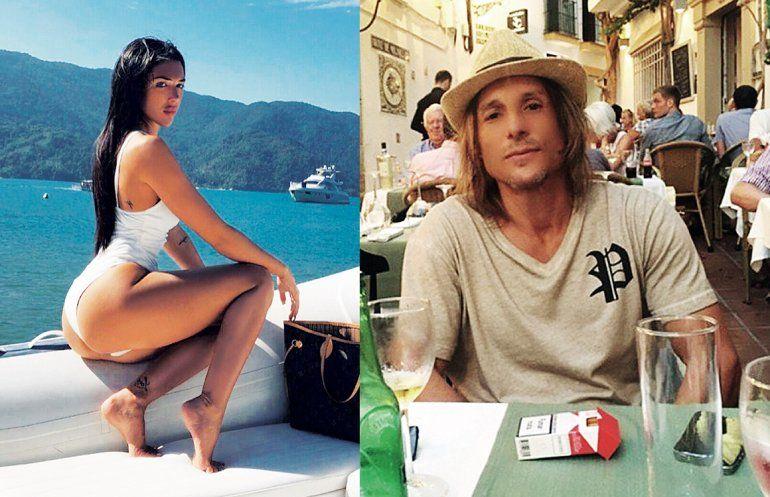 Sofía Bonelli, la novia de Caniggia, aseguró que perdió su embarazo: Estaba de días