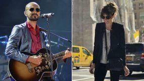 El cantante Abel Pintos se casa con su novia Mora Calabrese
