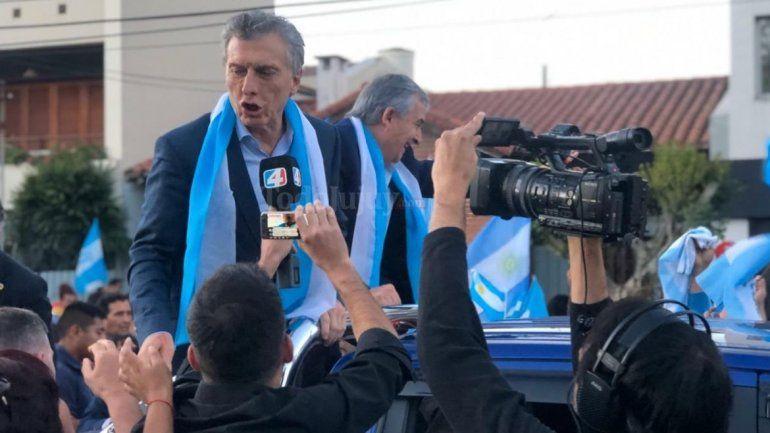 Mauricio Macri en Jujuy: Claro que se puede, si se puede