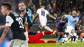 Champions League: La rompió Dybala y brillaron Agüero e Icardi