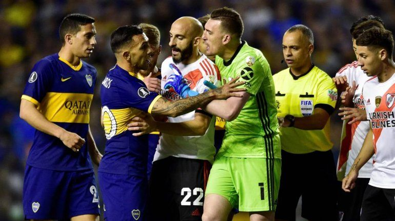 Boca 0 - River 0: empate con pocas emociones y sin goles en la Bombonera
