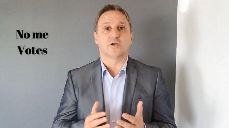 No me votes, votá a Macri, el sorprendente video de un candidato opositor