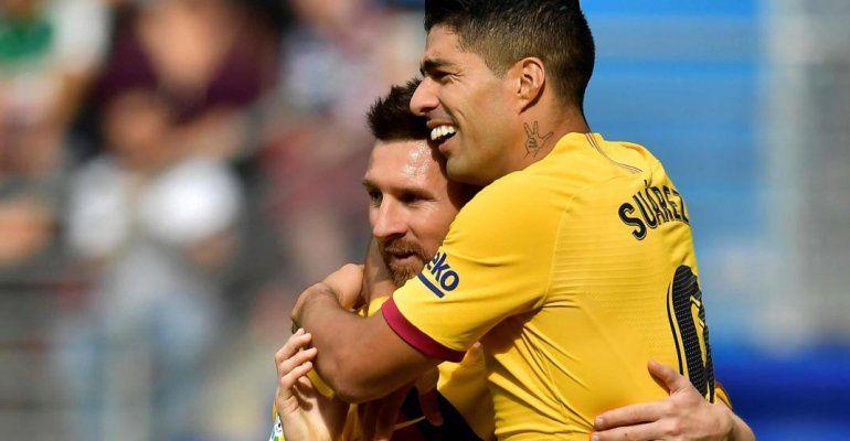 Champions League: Barcelona ganó con goles de Messi y Suárez