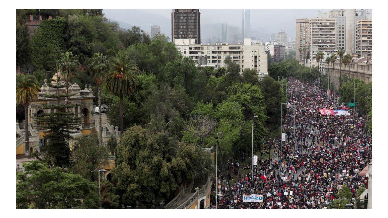 Las fotos más impactantes de la crisis en Chile