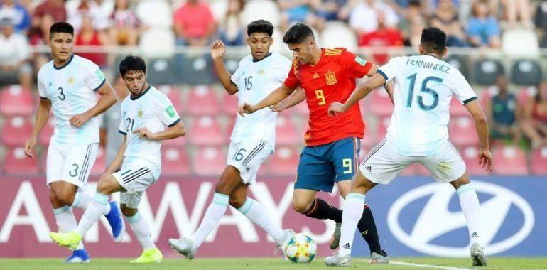 Mundial Sub 17: Argentina debutó con un empate ante España