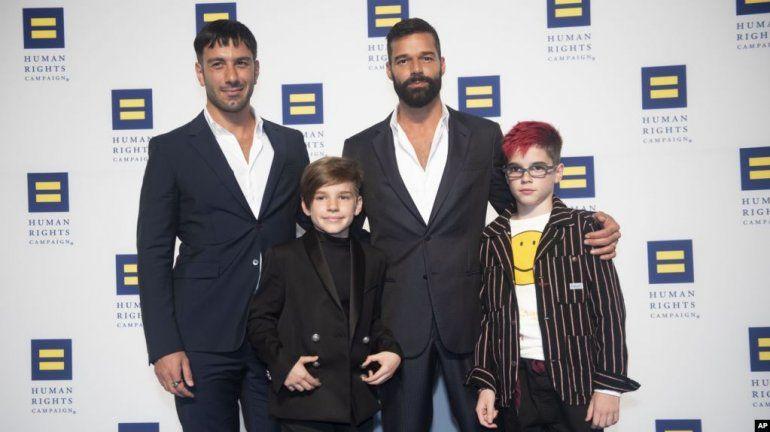 Acaba de nacer el cuarto hijo de Ricky Martin y Jwan Josef