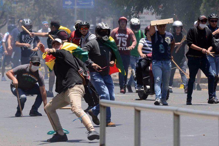 Bolivia: dos muertos y seis heridos en protestas por el resultado de las elecciones