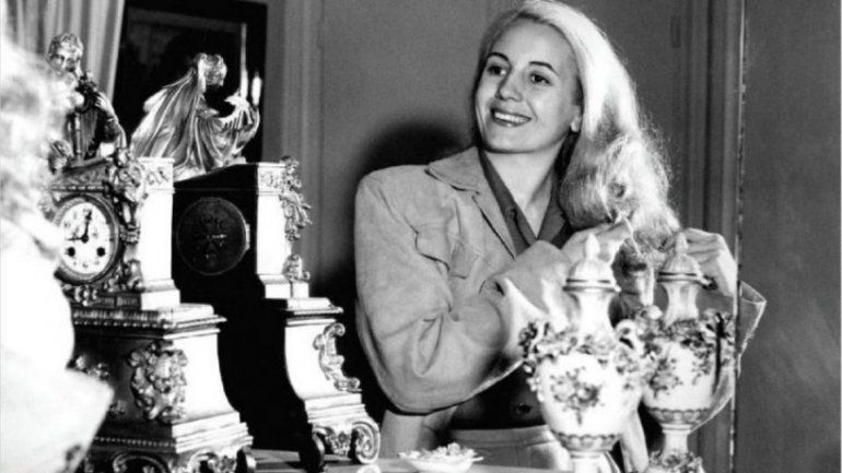 La CGT pidió formalmente la beatificación de Evita