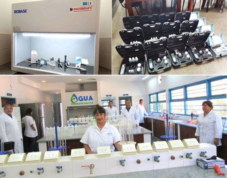Agua Potable incorporó nueva tecnología para garantizar la calidad del servicio