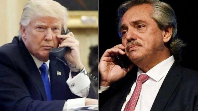 Trump llamó a Alberto Fernández: Va a hacer un trabajo fantástico