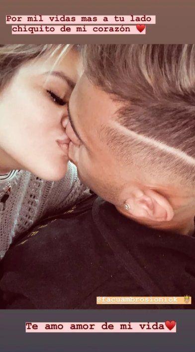 More Rial apostó al amor de nuevo: se reconcilió con Facundo Ambrosioni y lo expresó en redes sociales