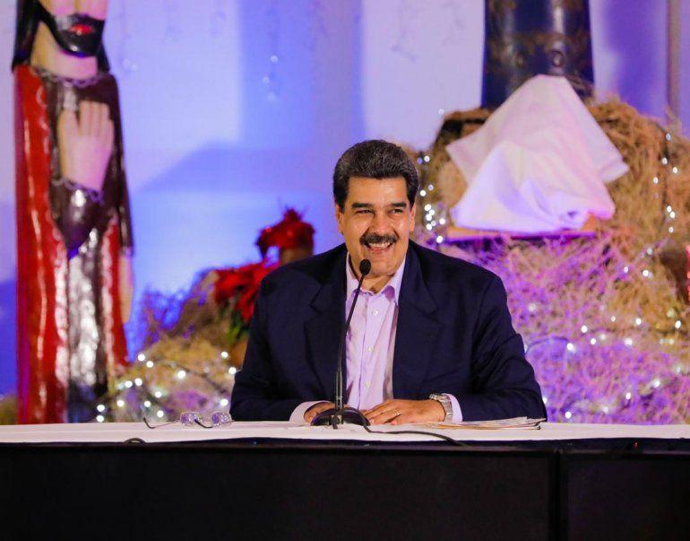 Maduro adelantó la Navidad en Venezuela: Que nadie nos quite la felicidad