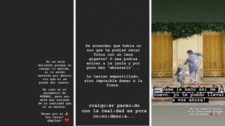 Diego Maradona le contestó a Gianinna: No me estoy muriendo y amenazó con donar toda la herencia