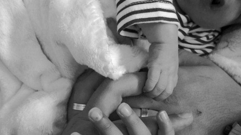 Trascendió la primera foto de Rodrigo, el bebé que nació sin rostro en Portugal