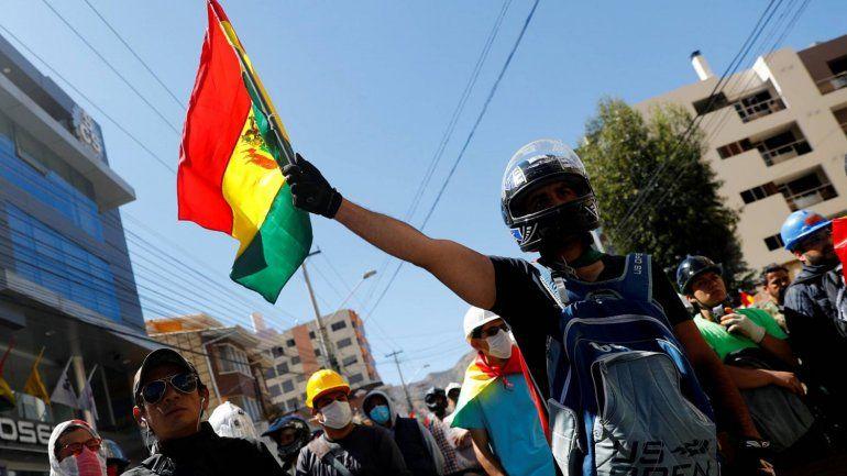 Se frenaron los enfrentamientos, pero la situación sigue tensa en Bolivia