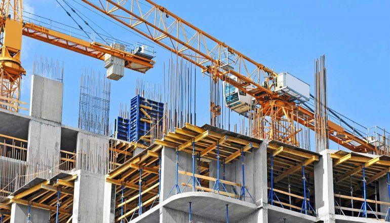 El sector de la construcción cayó un 8,5% interanual en septiembre